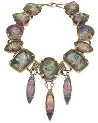 Erickson Beamon - Multicolor Large Pendant Necklace - Lyst
