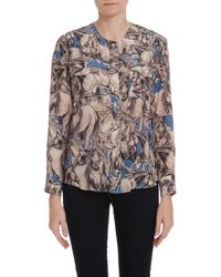 Paul & Joe - Blue Sleeping Horse Ls Shirt - Lyst