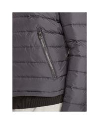 Ralph Lauren - Gray Down Windbreaker for Men - Lyst
