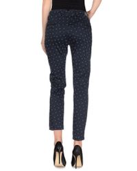 TRUE NYC - Black Casual Trouser - Lyst