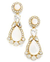 kate spade new york | Multicolor 'butter Up' Drop Earrings - Cream Multi | Lyst