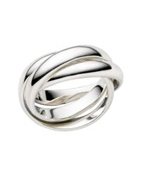 Links of London | Metallic Triple Ring | Lyst