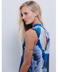 Free People | Blue Womens Silverlake Dress | Lyst