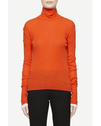 Rag & Bone | Orange Briony Turtleneck | Lyst