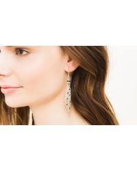 John Hardy - Black Classic Chain Chain-Mail Link Earrings - Lyst