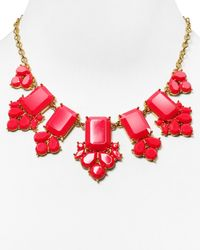 "kate spade new york - Pink Daylight Jewels Necklace, 17"" - Lyst"