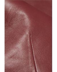 Raoul | Purple Elisa Cutout Leather Top | Lyst