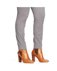 Ralph Lauren | Gray Equestrian Skinny Pant | Lyst