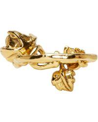 Aurelie Bidermann | Yellow Gold Plated Majorelle Gardens Ring | Lyst