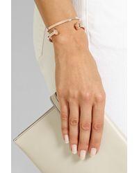 Monica Vinader | Pink Fiji Rose Gold-Plated Bracelet | Lyst