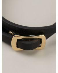 McQ - Black Razor Blade Bracelet - Lyst