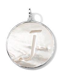Ippolita | Metallic Sterling Silver Lollipop Letter Charm | Lyst