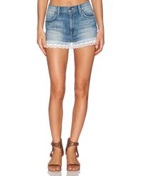 Wildfox | Blue Shabby Lace Short | Lyst
