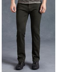 John Varvatos | Black Cotton Bowery Jean for Men | Lyst