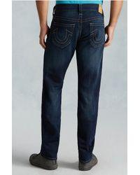 True Religion | Blue Geno Slim Mens Jean for Men | Lyst