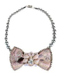 Bijoux De Famille - Pink Necklace - Lyst