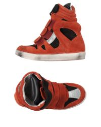 Ishikawa - Red High-tops & Trainers - Lyst