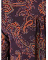 Veronica Beard - Pink Paisley Print Tunic Dress - Lyst