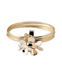 Boutique Moschino - Metallic Bracelet - Lyst