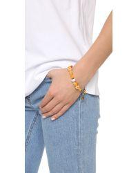 Venessa Arizaga - Multicolor Breakfast In Bed Bracelet - Lyst