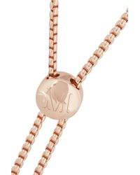 Monica Vinader | Metallic Baja Rose Goldplated Diamond Bracelet | Lyst