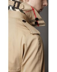 Burberry - Natural Heritage Double Breasted Raglan Trench Coat for Men - Lyst