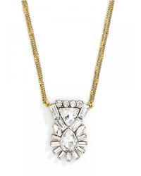 BaubleBar - Metallic Reflection Pendant - Lyst