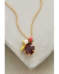 Les Nereides - Purple Bagatelle Necklace - Lyst
