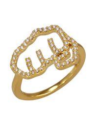 Khai Khai - Metallic Pow Ring - Lyst