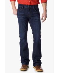 """7 For All Mankind - Blue Luxe Performance: Brett Modern Bootcut With """"a"""" Pocket for Men - Lyst"""
