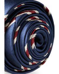 Forever 21 - Blue Striped Neck Tie for Men - Lyst