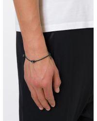 Valentino - Green Adjustable Bracelet for Men - Lyst