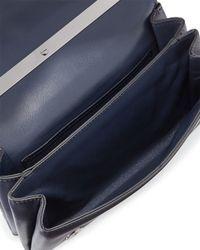 Valentino - Blue Va-Va-Voom Butterfly Beaded Shoulder Bag - Lyst