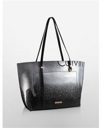 Calvin Klein - Black Hudson Ck Monogram Satchel - Lyst