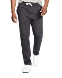Polo Ralph Lauren | Black Classic Fleece Drawstring Pants for Men | Lyst