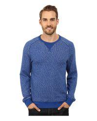 Lucky Brand - Blue Long Sleeve Crew for Men - Lyst