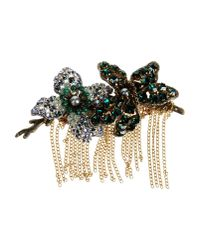 Tataborello - Green Brooch - Lyst