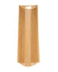 Nina Ricci - Metallic Fringe Bracelet - Gold - Lyst