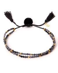 Tai | Black Multi-strand Hematite Beaded Bracelet | Lyst