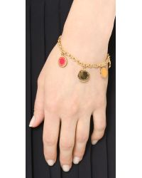 Marc By Marc Jacobs - Multicolor Collected Charms Bracelet - Creme - Lyst