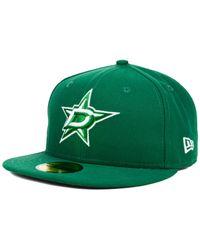 KTZ | Green Dallas Stars C-dub 59fifty Cap for Men | Lyst