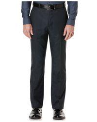 Perry Ellis - Blue Portfolio Straight-fit Dress Pants for Men - Lyst
