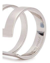 Joomi Lim - Metallic Rhodium-Dipped Midi Ring - Lyst