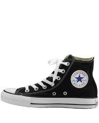 Converse - Black Canvas Hi Top Sneaker - Lyst