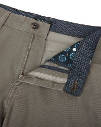 Ted Baker | Natural Lofive Five Pocket Trousers for Men | Lyst