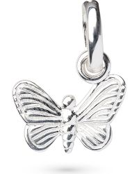 Links of London | Metallic Butterfly Sterling Silver Charm | Lyst