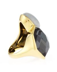 Ippolita - Black 18k Rock Candy 3stone Ring Lago - Lyst