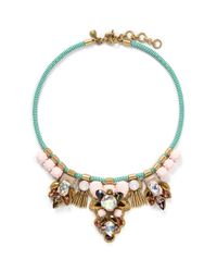 J.Crew | Multicolor Dragonfly Statement Necklace | Lyst