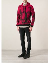 Dolce & Gabbana - Purple Printed Hoodie for Men - Lyst