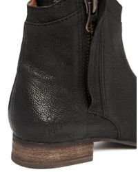 Sam Edelman - Black Cody Zip Side Ankle Boots - Lyst